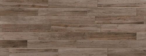 Travel 8 x 48 Porcelain Wood Look Tile in West Brown by Travis Tile Sales