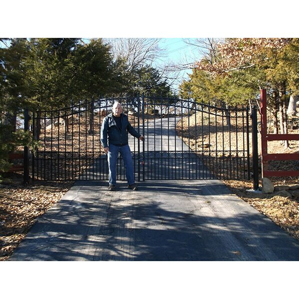 London Dual Swing Driveway Gate by ALEKO
