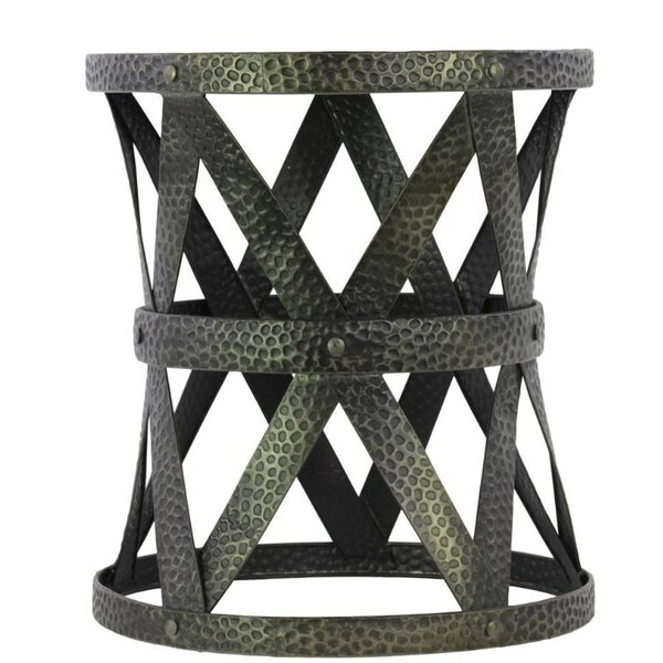 Jaye Round Accent Stool by Williston Forge