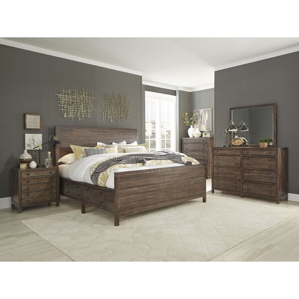 Seawright Storage Standard 5 Piece Bedroom Set by Millwood Pines
