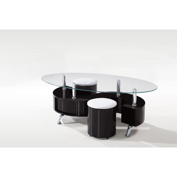 Eluan Abstract Coffee Table By Orren Ellis