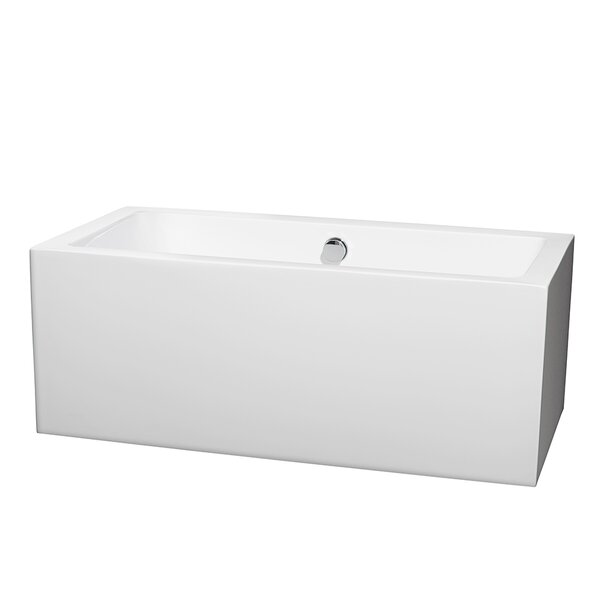 Melody 59 x 29.5 Soaking Bathtub by Wyndham Collection