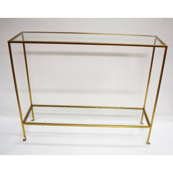 Ybarra Narrow Console Table by Mercer41