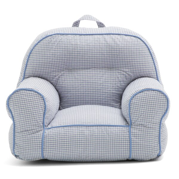 Big Joe Junior Gingham Bean Bag Chair by Comfort Research