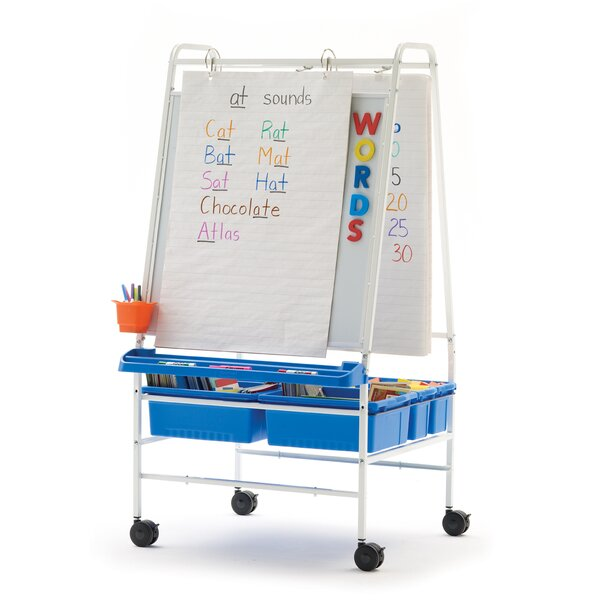 Basic Reading Writing Center Magnetic Board Easel by Copernicus