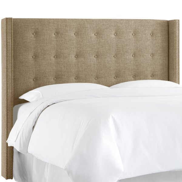 Armington Upholstered Wingback Headboard by Red Barrel Studio