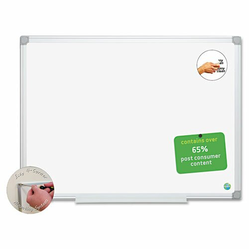 Earth Wall Mounted Whiteboard by Mastervision