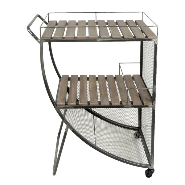 2-Tier Bar Cart by Donny Osmond Home Donny Osmond Home