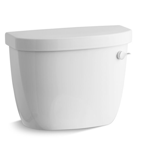 Cimarron 1.6 GPF Toilet Tank with Aquapiston Flush Technology and Right-Hand Trip Lever by Kohler