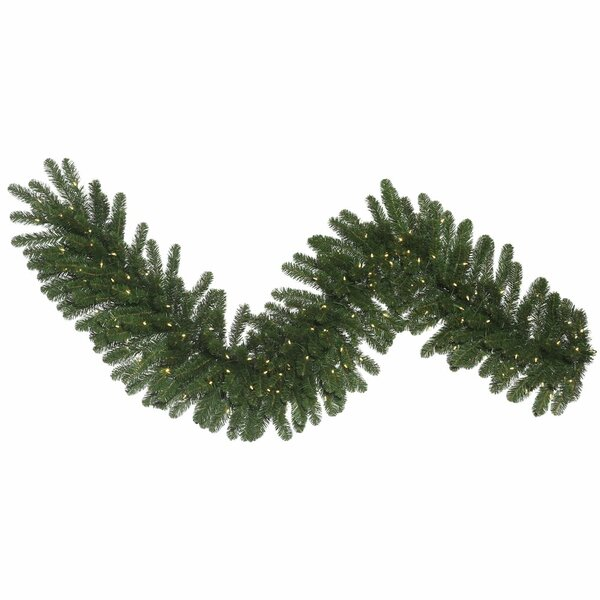 Fir Artificial Christmas Garland with LED Lights by The Holiday Aisle