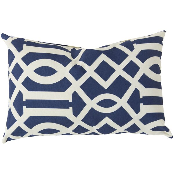 Winslow Scroll Outdoor Pillow Cover by Alcott Hill