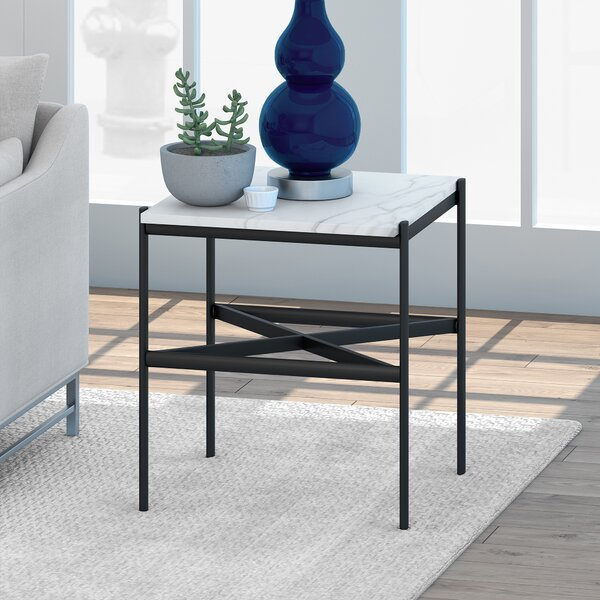 Remick  End Table By Wrought Studio
