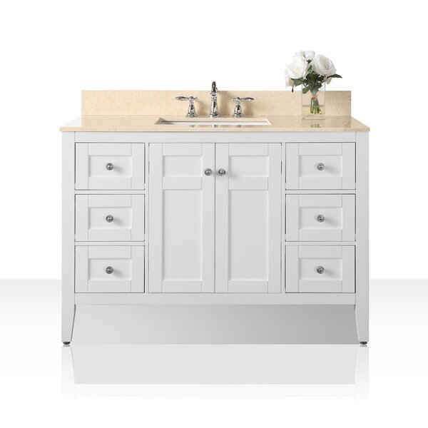 Fuller 48 Single Bathroom Vanity Set by House of Hampton