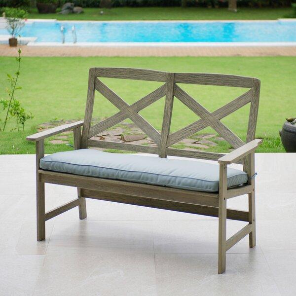 Englewood Wood Garden Bench by Beachcrest Home Beachcrest Home