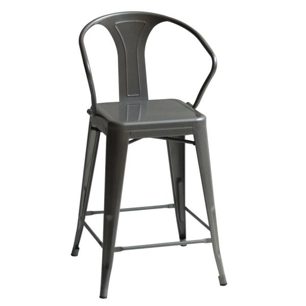 Oldham High Back 43 Bar Stool (Set of 4) by 17 Stories