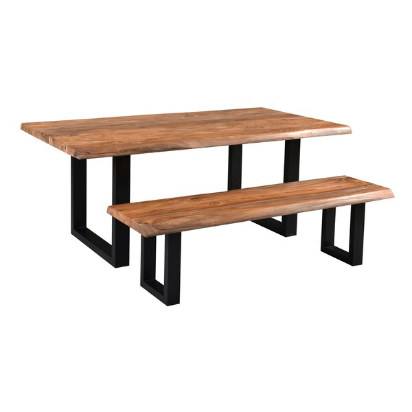 Brasher Wood Dining Bench by Foundry Select