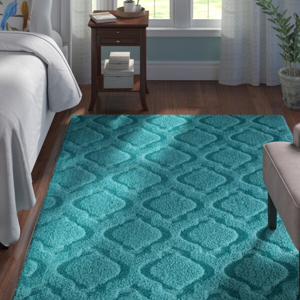 Ramey Blue Area Rug by Andover Mills