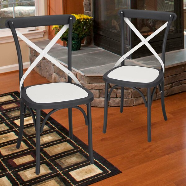 Jen Vintage Dining Chair (Set of 2) by August Grove