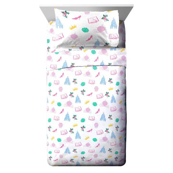 Disney Princess Sassy Reversible Comforter Set (Se