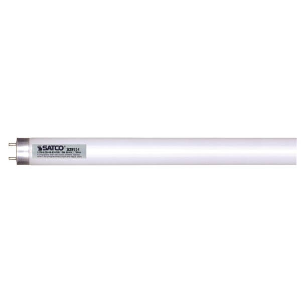 32W Equivalent G13 LED Tube Light Bulb by Satco
