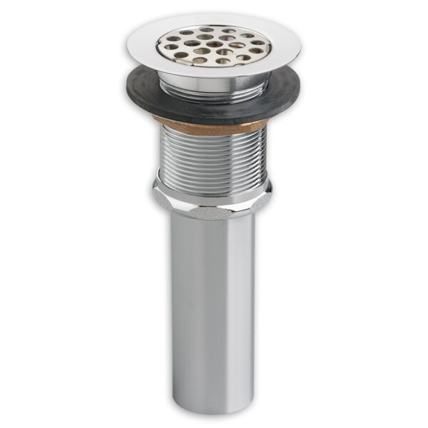 Heritage 1.25 Grid Kitchen Sink Drain With Overflow by American Standard