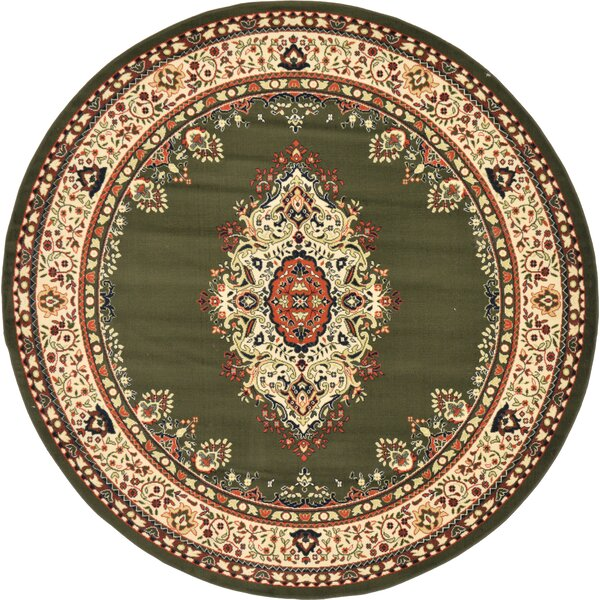 Britain Green Area Rug by World Menagerie