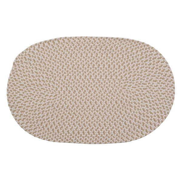 Madilyn Hand-Braided Natural Area Rug by August Grove