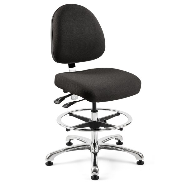 Petoskey Modern Ergonomic Drafting Chair by Orren Ellis