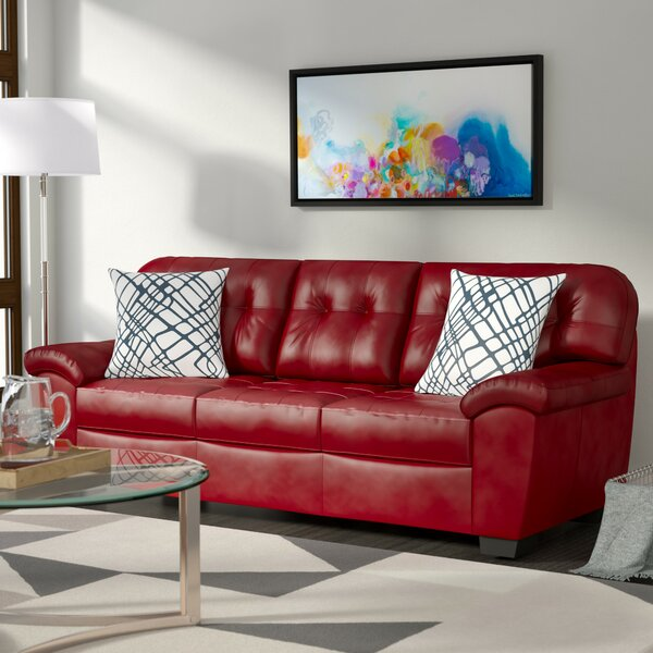 Shoulders Upholstery Showers Sofa by Winston Porter