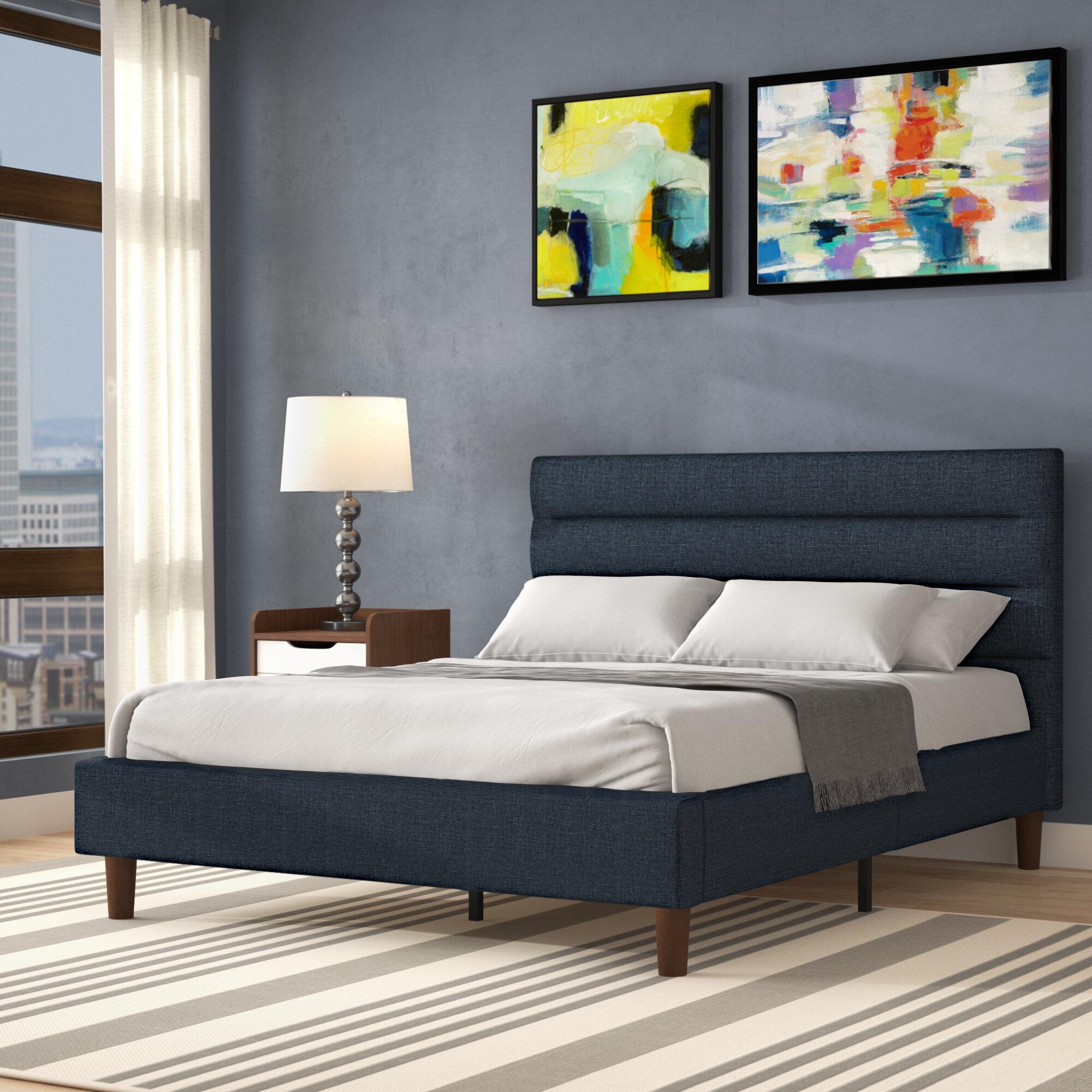 Trule Teen Barrios Upholstered Platform Bed Reviews Wayfair