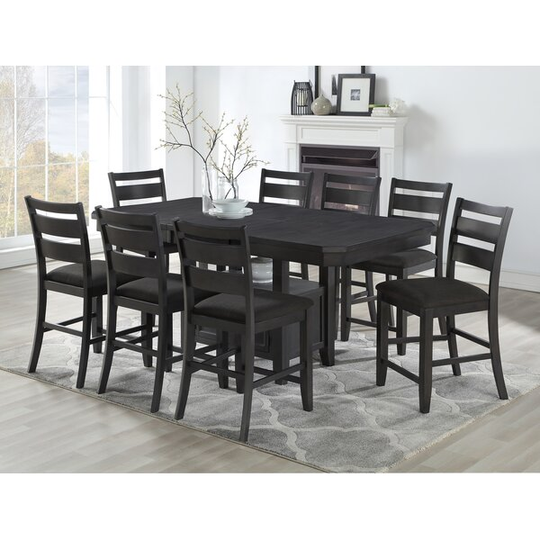 Offutt 9 Piece Pub Table Set by Canora Grey