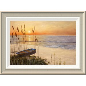 'Time of My Life' by Diane Romanello Framed Painting Print by Global Gallery