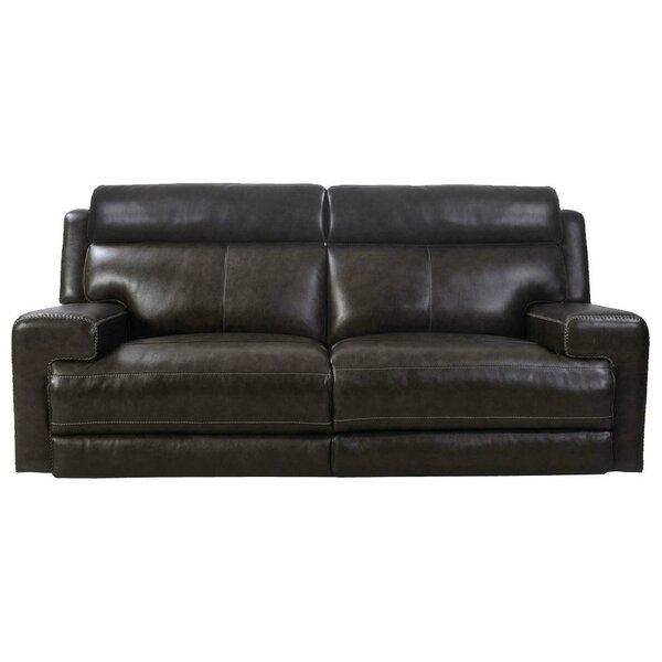 Gambrinus Leather Reclining Sofa By Latitude Run