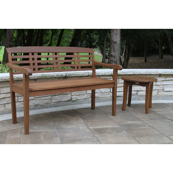 Lympsham Wood Park Bench by Charlton Home
