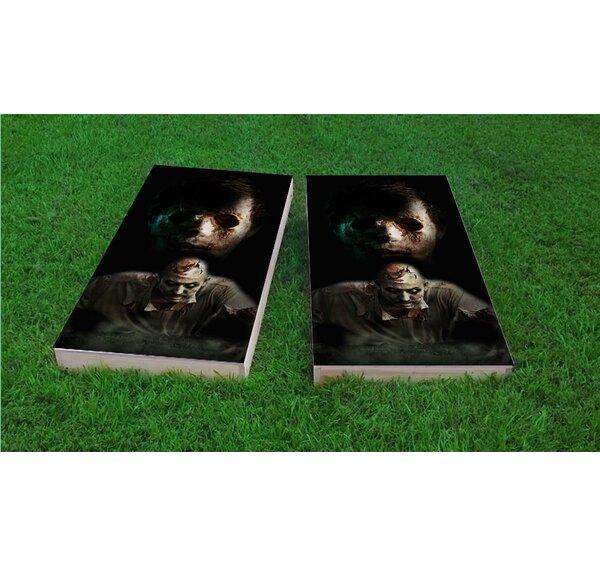 Walking Dead Zombies Cornhole Game Set by Custom Cornhole Boards
