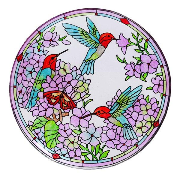 Inspired Floral Birdbath by Evergreen Flag & Garden