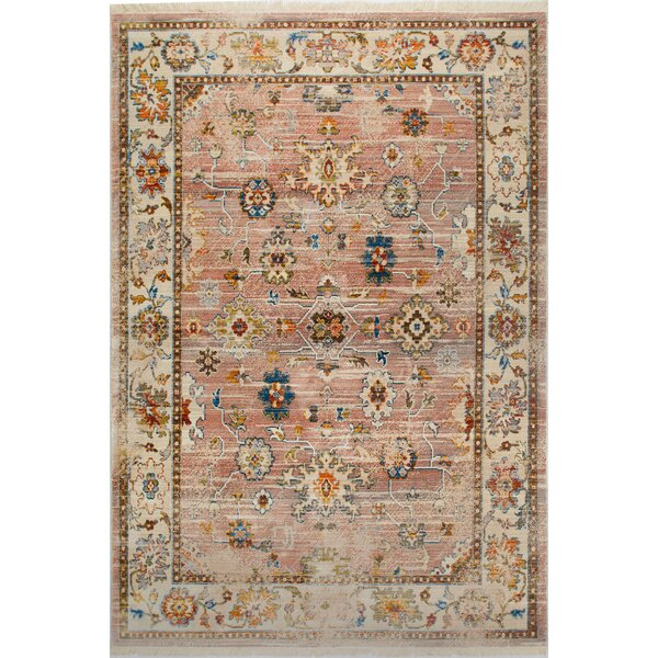 Kalish Faded Rust Area Rug by Charlton Home