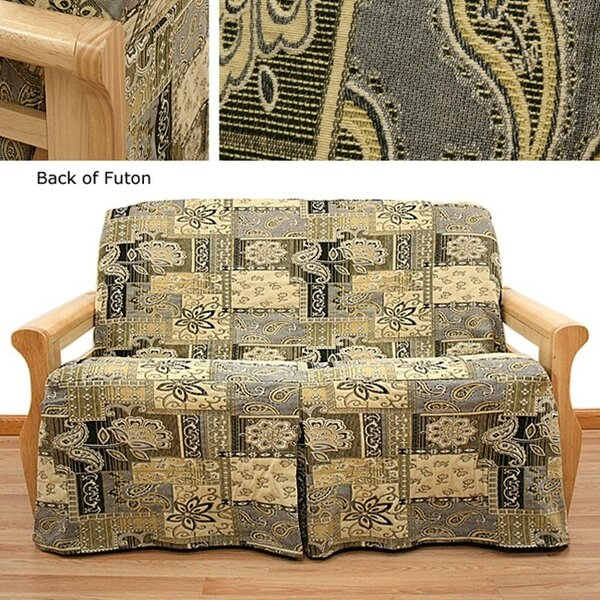 Casablanca Box Cushion Futon Slipcover By Easy Fit