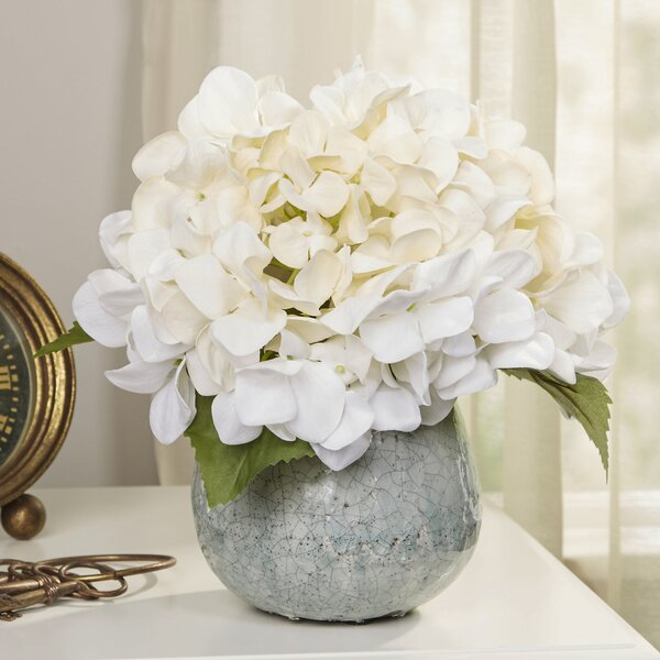 Faux White Hydrangea by Birch Lane™