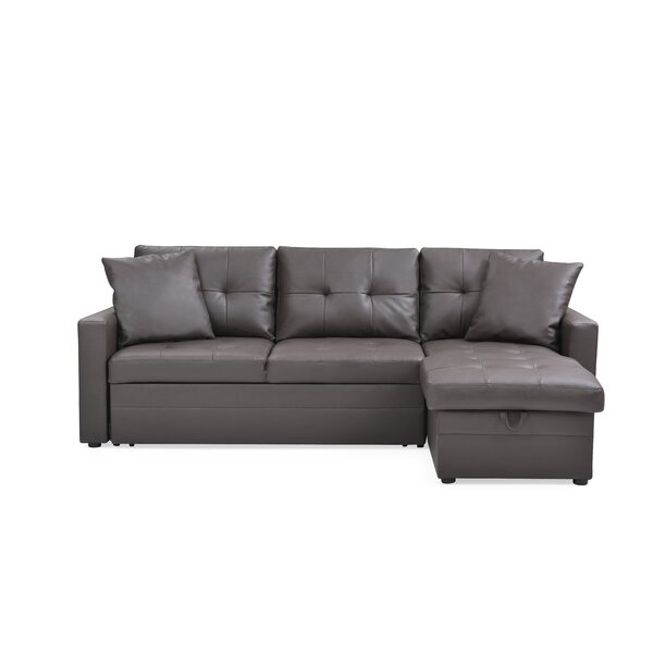 Clarke Sleeper Sectional By Ebern Designs No Copoun