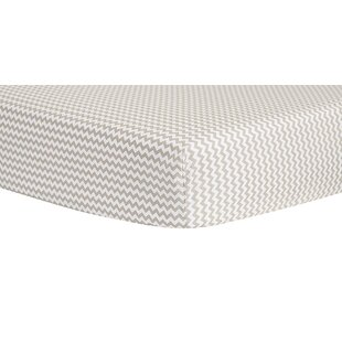 Online Reviews Ombre Chevron Fitted Crib Sheet ByTrend Lab
