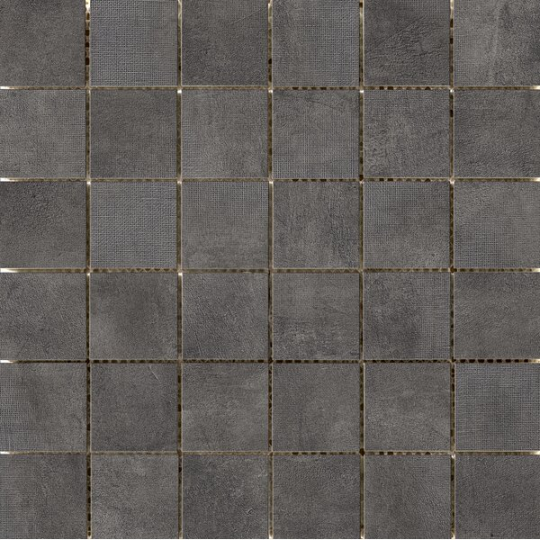 Facade 2 x 2 Porcelain Mosaic Tile in Graphite by Emser Tile
