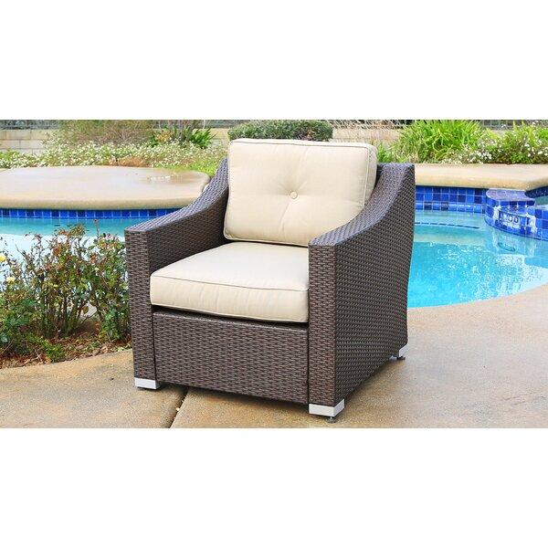 Suai Patio Chair with Cushion by Brayden Studio Brayden Studio