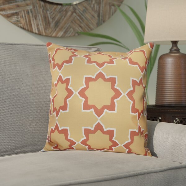 Meetinghouse Bohemian 2 Geometric Outdoor Throw Pillow by Bungalow Rose