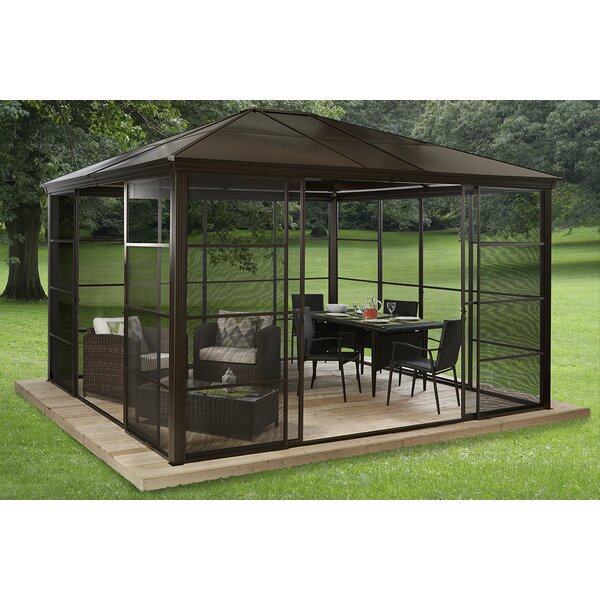 Castel Aluminum Patio Gazebo by Sojag