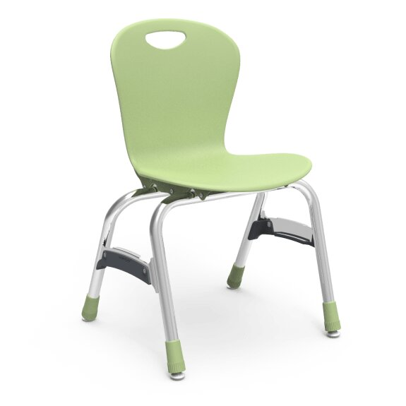 Zuma Plastic Classroom Chair (Set of 4) by Virco