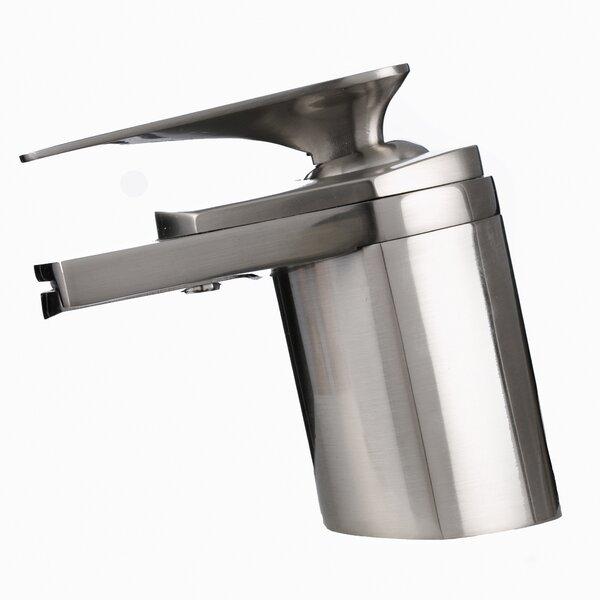 Single Hole Vessel Bathroom Waterfall Faucet