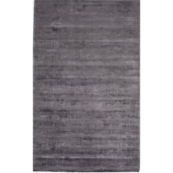 Hand-Tufted Gunmetal Area Rug by The Conestoga Trading Co.