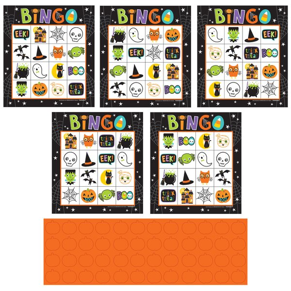 Halloween Friends Paper Bingo by Amscan