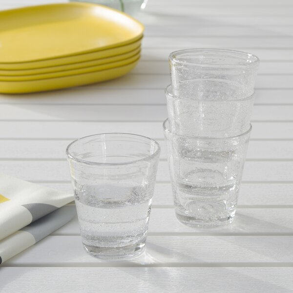 Bubble 12 Oz. Water Glass (Set of 4) by Abigails